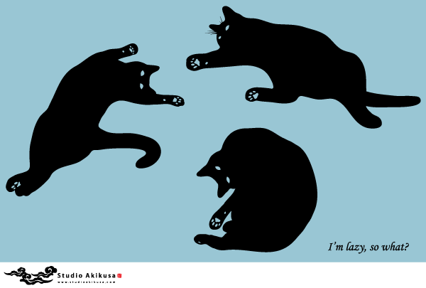 Black cat silhouette | 316 Free vector graphic images | Free-Vectors