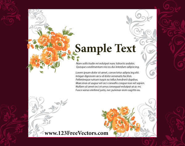 wedding invitation card design  download free vector art  free, Wedding invitation