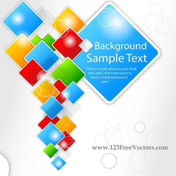 Squares Background Free Vector Square Vector Background