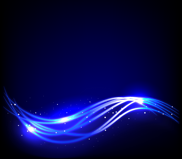 Free Abstract Blue Glow Vector Background
