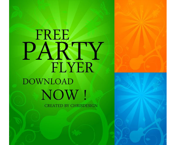 Party Flyer Background Vector Free | Download Free Vector Art ...