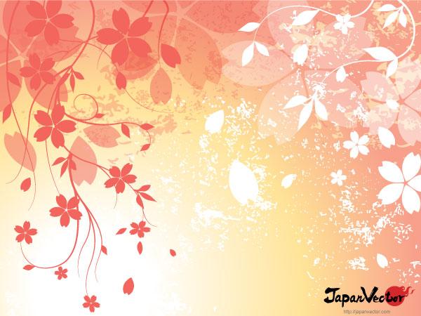 Japanese Vector Wallpaper Sakura Japanese Cherry