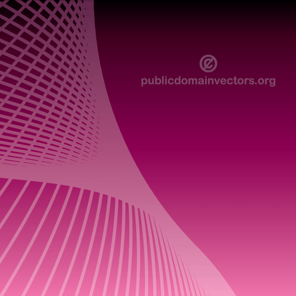 Abstract Purple Background Graphics with Wave Lines
