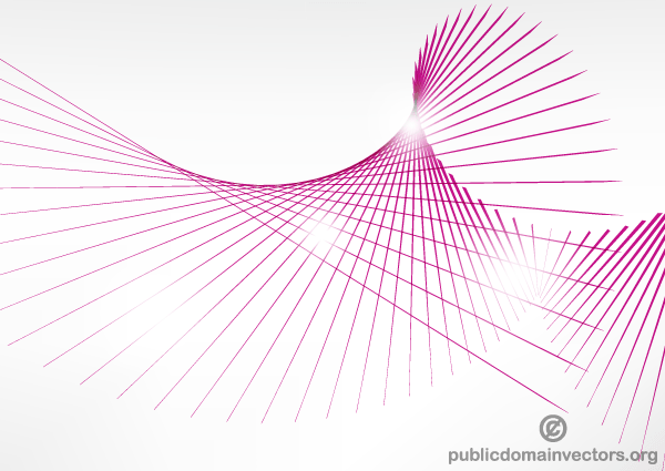 Vector Drawing Lines Games : Vector pink curve lines background illustration download