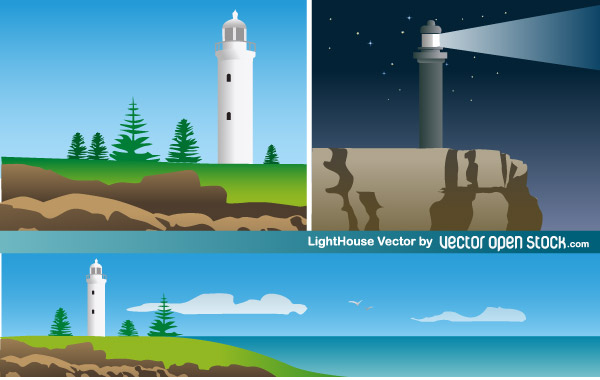 Lighthouse Free Vector Art