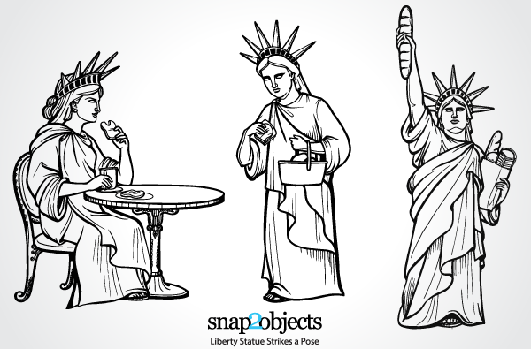 Statue of Liberty Vector Free