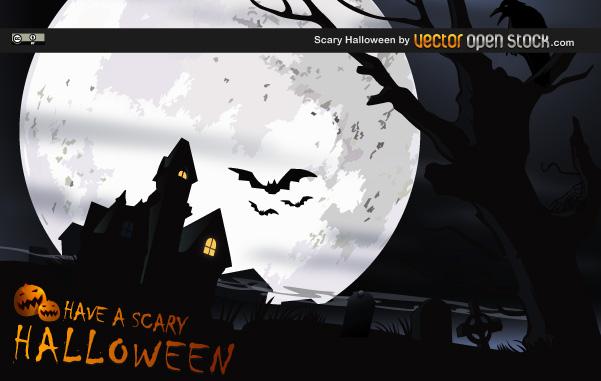 Halloween Vectors featured Scary Halloween