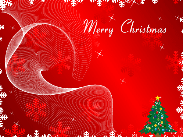 merry christmas greeting card on red background vector  download, Greeting card