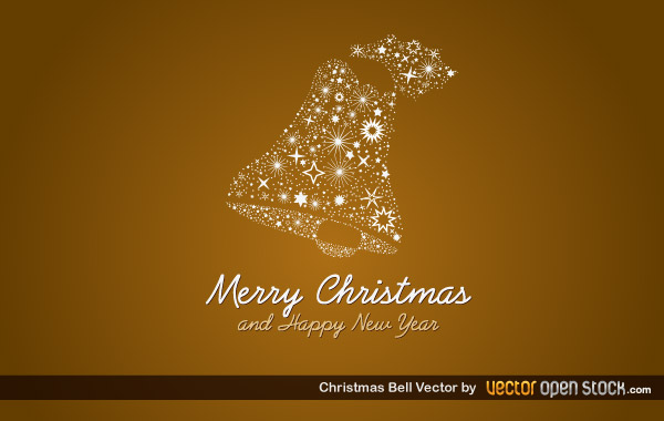 Christmas Bell Vector Graphics