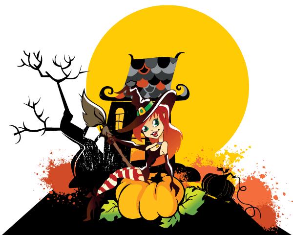 clipart halloween hexen - photo #41
