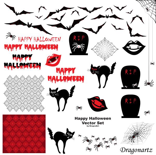 Happy Halloween Vectors