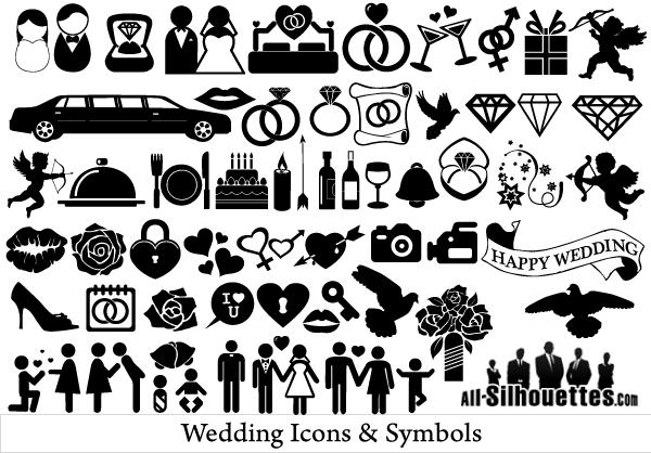 free vector clipart wedding - photo #41
