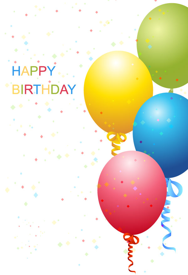 Birthday Template Free Vector