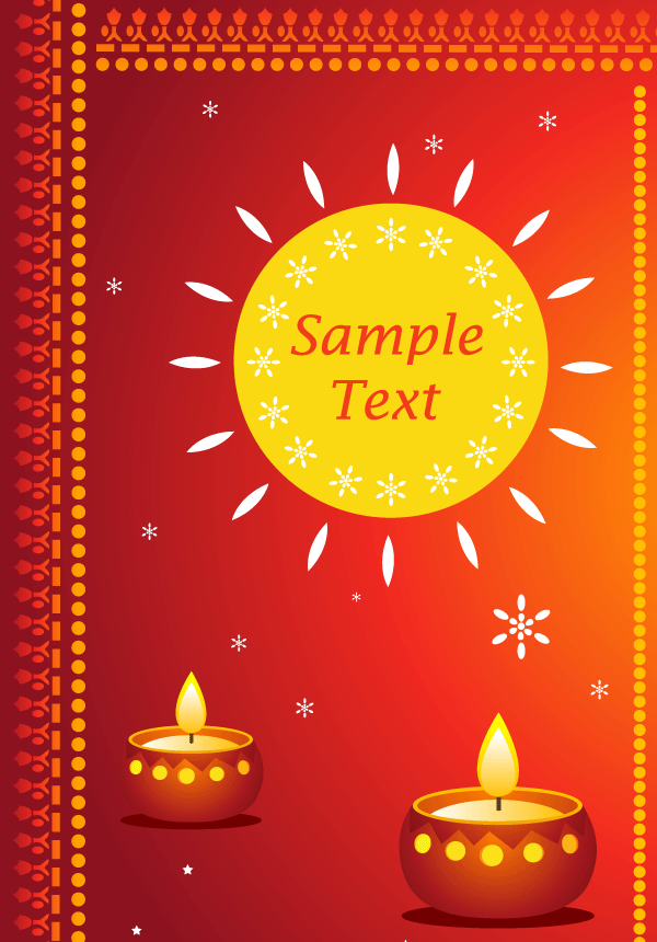 happy diwali greeting cards vector  download free vector art, Greeting card