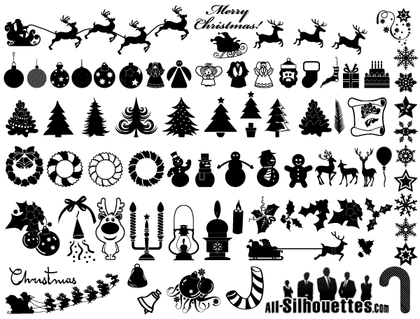 christmas clipart vector - photo #8