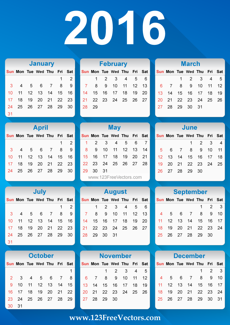 Calendar Vector : Free vector calendar download art