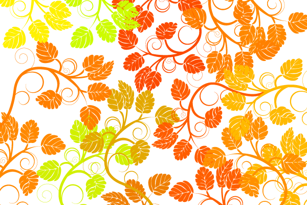 Floral Colorful Background Vector Free