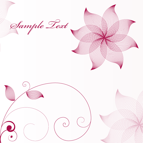 ... Flower Vector Background | Download Free Vector Art | Free-Vectors