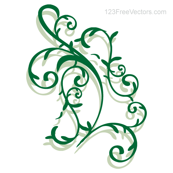 Vector Floral Ornament Download Free Vector Art Free