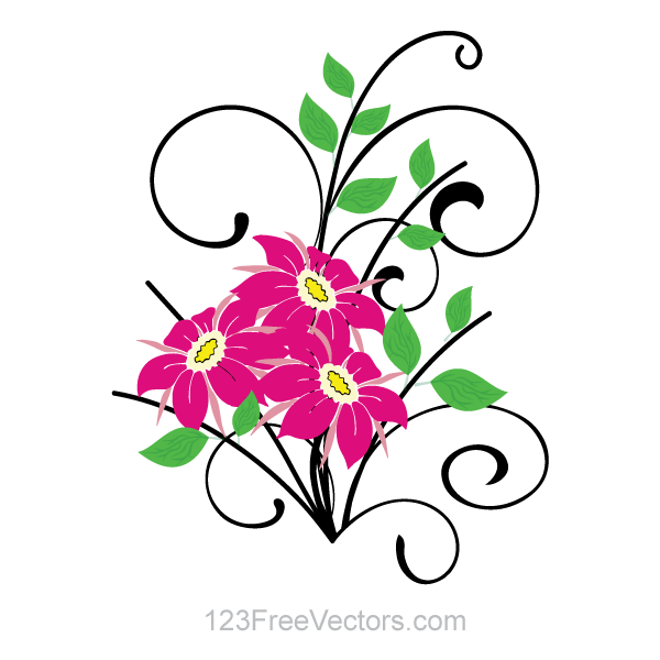 free clipart bouquet of flowers - photo #50