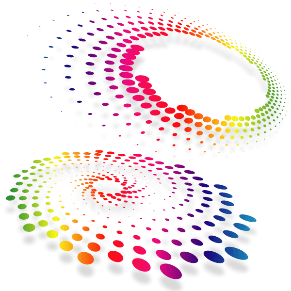 Abstract Dot Shape Free Vector
