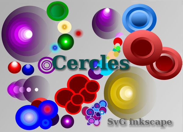 Vector Colorful Circles Graphics