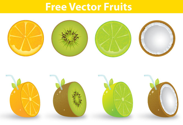 Vector Fruits Free