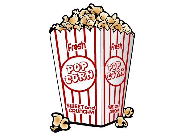Vector Clip Art Popcorn