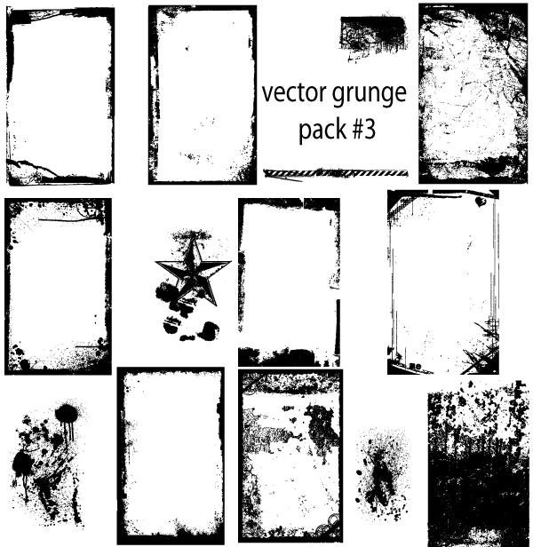 vector grunge clipart - photo #4