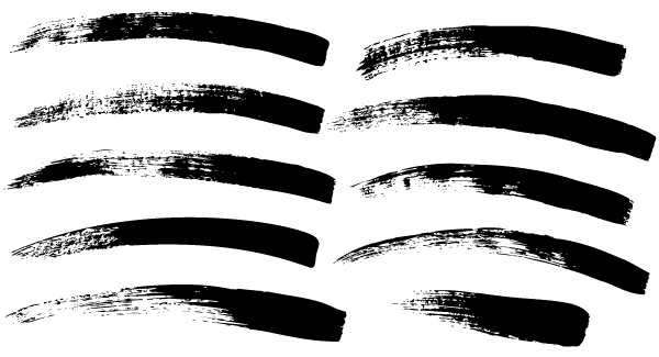 Paint Brush Strokes Free Vector