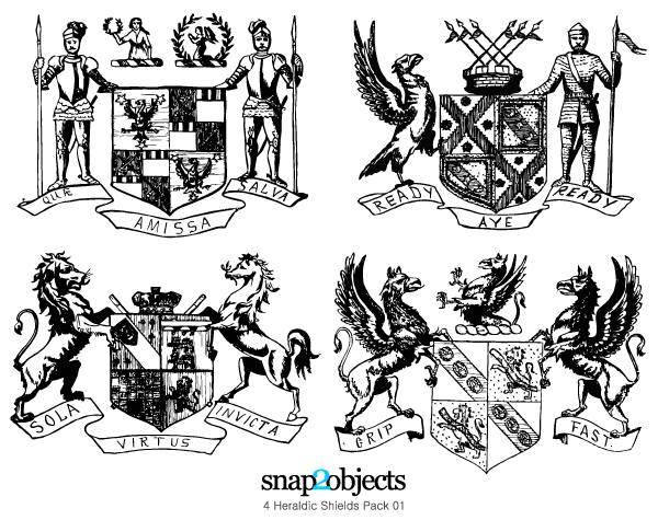 Middle Ages Coat Of Arms Shirt Design