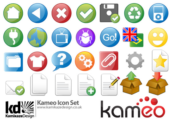 Kameo Icon Set