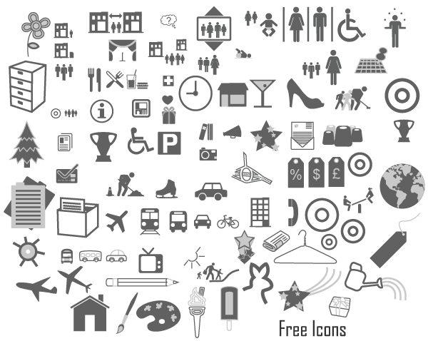 Icons Free Vector Graphics