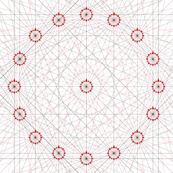 Portolan Chart Lines Vector