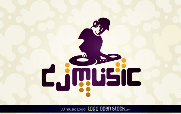 Dj Music Logo Free Vector – Free Vector Graphics Download | Free ...