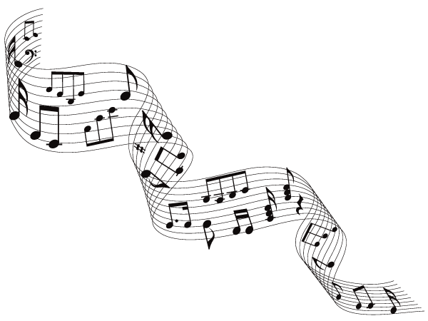 Free Musical Notes Vector Free Vector