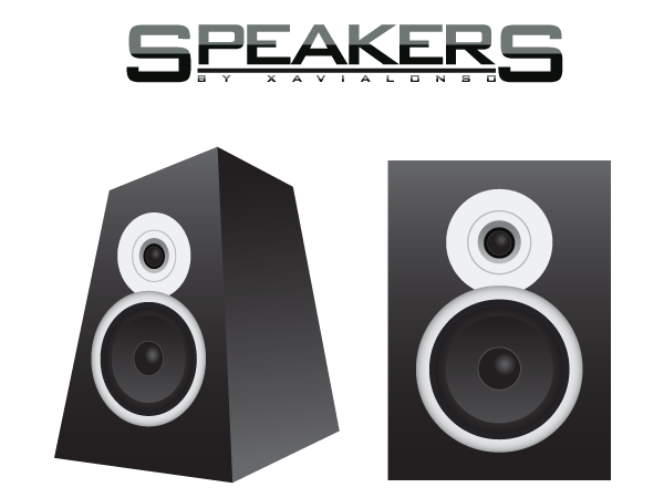 Speakers Vector Image ...