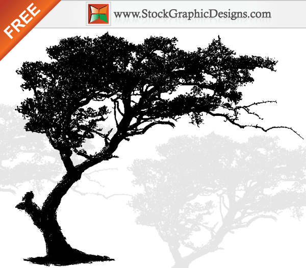 Tree Silhouette Clip Art Pictures to pin on Pinterest