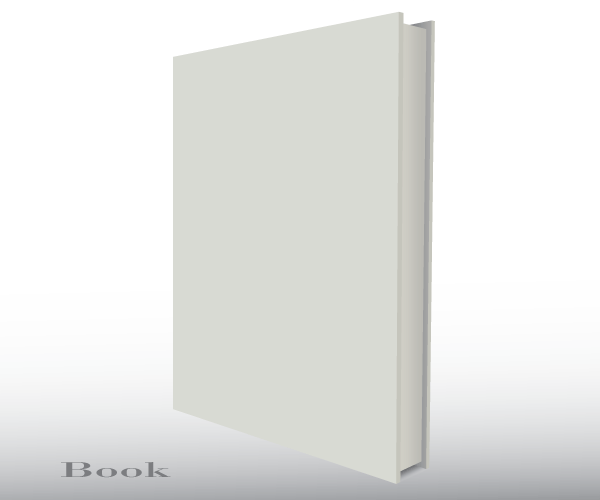 Free Vector Blank Empty 3d Book Cover Template | Download Free ...