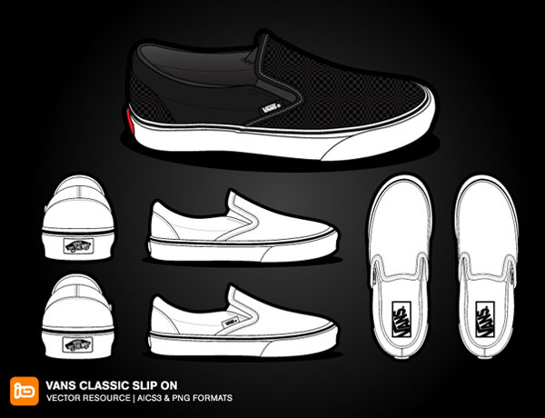 Drawing of Vans Shoes Vans Shoe Drawing Vans Classic