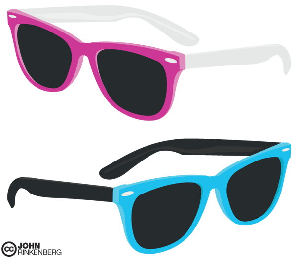 Glasses Frames Vector : Free Ray Ban Glasses Vector Graphics Download Free ...