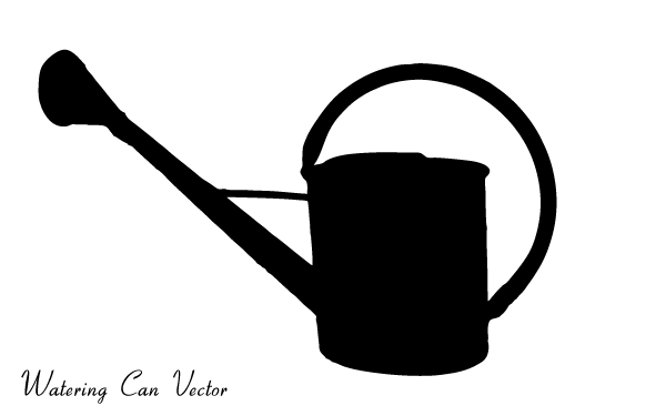 Vector Watering Can