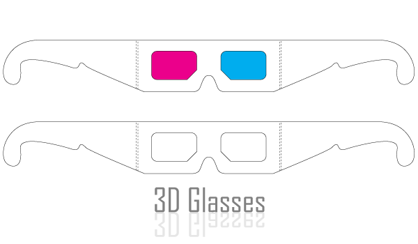 3D Glasses Vector | Download Free Vector Art | Free-Vectors