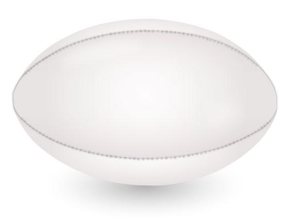 Rugby Ball Vector | Download Free Vector Art | Free-Vectors