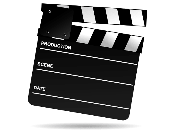 Movie Clip Art Free Download Vector Clip Art Movie Clapper