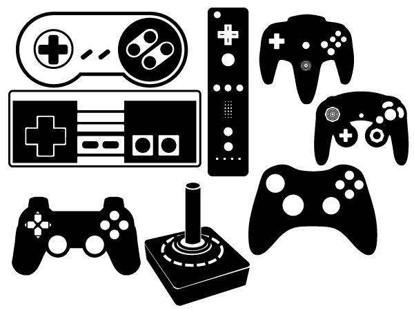 Vector Game Controller | Download Free Vector Art | Free ...