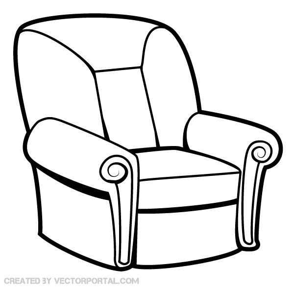 Armchair Vector Image Download Free Vector Art Free