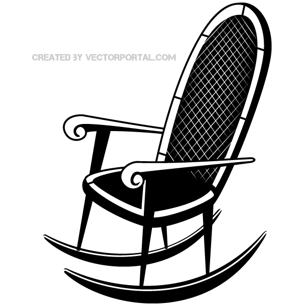 Rocking Chair Clip Art ~ Rocking chair clip art download free vector