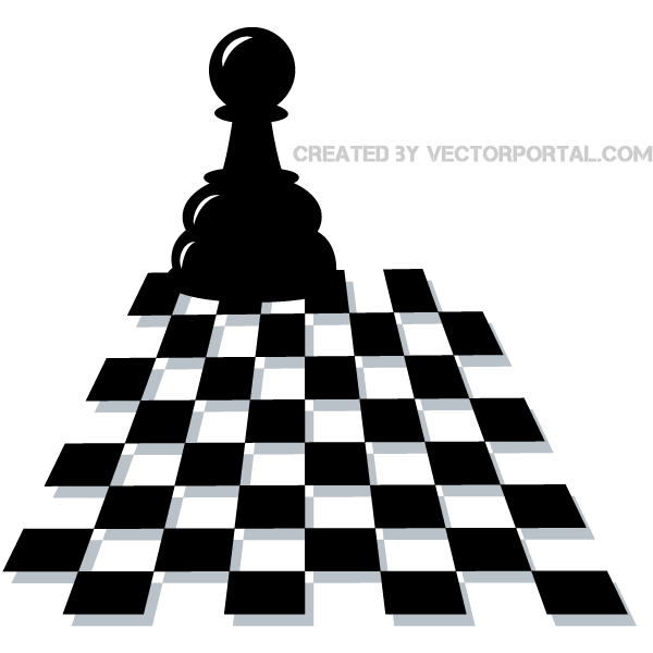 Vector Chess Pawn