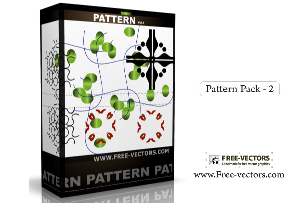 048-Pattern Background Free Vector Pack-2